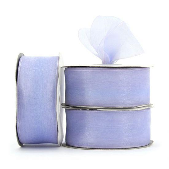 Organza Ribbon Roll - Lilac