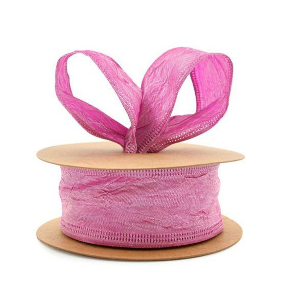 Taffeta Ribbon - Wire Edge 38mm x 20m - Hot Pink
