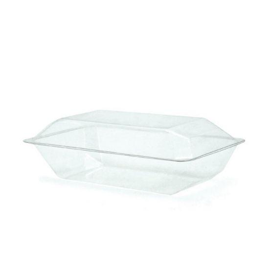 PVC Clam Shell Corsage Box 22.5L x 12W x 7H Pack of 10 - Clear